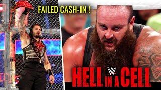 Braun Cash-In Failed CONFIRMED ? Roman Winning Universal Championship Hell in a Cell 2018 Highlights