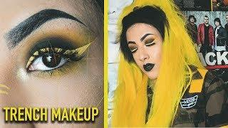 Trench Inspired makeup tutorial ( twenty one pilots ) // TheRandomExplorer