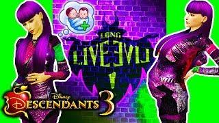 ???????? MAL IS HAVING A BABY! But who's the father..? ???????? Descendants 3 Sims 4 (Ep 9)