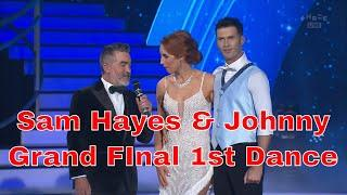 DWTS NZ 2018 Grand Final Sam Hayes and Aaron 1st Dance Show Dance Calvin Harris Feel So Close