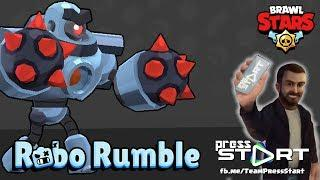 Brawl Stars - GAMEPLAY - Jogando Robo Rumble e falando sobre o canal