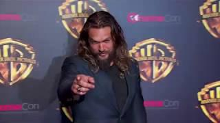 Jason Momoa is 'pretty much naked' in Aquaman | Daily Celebrity News | Splash TV