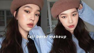 FALL BERET MAKEUP LOOK????秋天貝雷帽妝容 | heyitsmindy