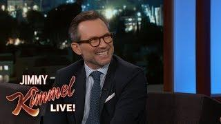 Christian Slater on Meeting Obama, Bill Clinton & Frank Sinatra