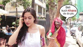 Beggar Asks For Food From Saif Ali Khan's Daughter Sara Ali Khan..What Happens Next Is SHOCKING
