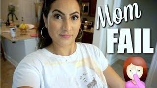 TODDLER TANTRUMS & MOM FAIL | REAL DAY IN THE LIFE OF SAHM | XoJuliana