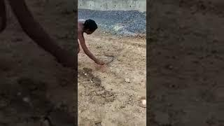 Snake attack lungi | running naked