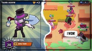 MORTIS PUSH TO 500 TROPHIES IN SHOWDOWN! (REUPLOADED) :: HIGH LEVEL SHOWDOWN GAMEPLAY! - Brawl Stars