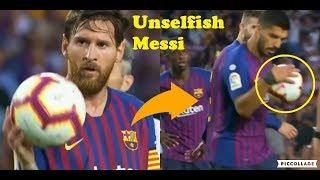 What Football Stars Did ft. Messi Gives Penalty To Suarez