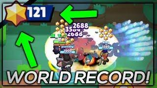MOST STARS IN BOUNTY!? WORLD RECORD?! :: Brawl Stars Gameplay