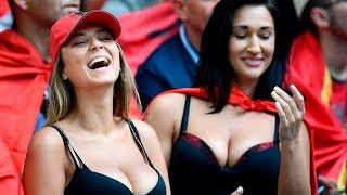 Most BEAUTIFUL and HOT FEMALE FANS  of the world champion in football FIFA Russia 2018