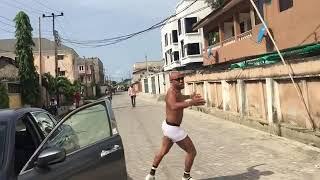 Charles Okocha Goes Semi Naked for 10 million views