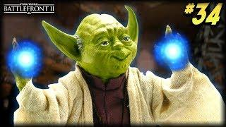Star Wars Battlefront 2 - Funny Moments #34 (YODA GOES CRAZY)