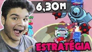 MELHOR ESTRATÉGIA PARA ROBO RUMBLE!!! MAIS DE 6 MINUTOS!! - BRAWL STARS