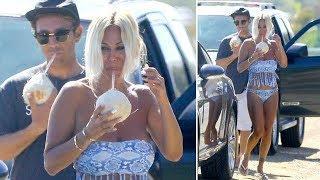 EXCLUSIVE - Shauna Sand Shows Off Her Bikini In Malibu