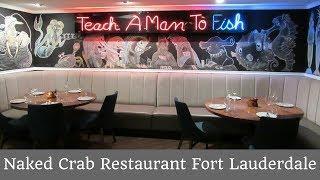 Naked Crab Restaurant Fort Lauderdale #TravelTips #Foodies