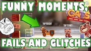 C.A.T.S. ULTRA FUNNY MOMENTS, GLITCHES AND FAILS [Crash Arena Turbo Stars montage] PART #23