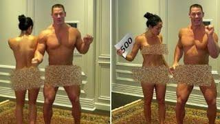 Wwe Nikki Bella and John Cena Celebrity Nude|| WWE NetWork ||