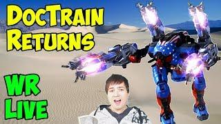 War Robots DocTrain Returns Live Gameplay 2 Hours - Win & Fail WR