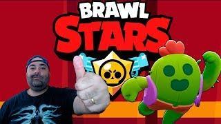 BRAWL STARS - JOGANDO DE SPIKE COM SKIN