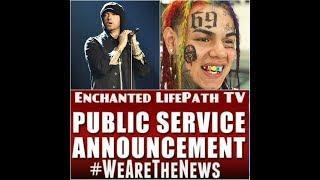 Pedo Rapper 6ix9ine Kills Himself in #Eminem #Kamikazi Response Fail - Real F'kn Humannnn