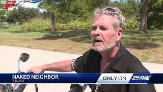 Florida Man Who Likes To Do Yard Work Naked
