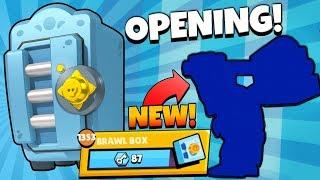 HUGE MEGA BRAWL BOX OPENING & UNLOCKING NEW CRAZY BRAWLER! | Brawl Stars | SO MANY BRAWL BOXES!