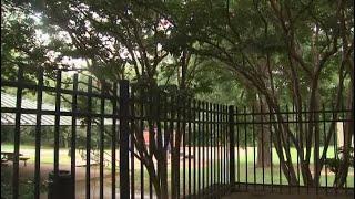 Dad detains naked man at gunpoint in park
