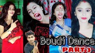 Boudi Dance //Most viral video // The bong Crush boudi // Celebrity of Vigo video app Part 3