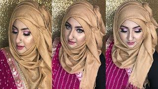Eid-Ul-Fitr Makeup Tutorial 2018 | Purple cut crease makeup | Mim Sabrin