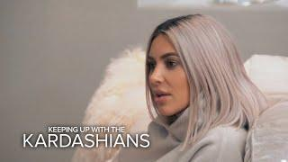 KUWTK | Kim & Khloé Find Out Kourtney Won't Be Home for Christmas | E!