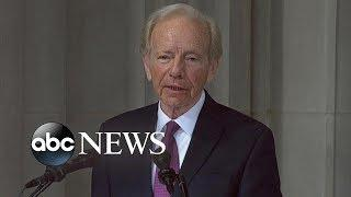 Joseph I. Lieberman tribute to John McCain