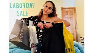 LABOR DAY TRY-ON CLOTHING HAUL (Urban Outfitters, Topshop, Garage, Forever 21)