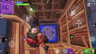 Fortnite Mobile 11 kills with TRAP TOWER (fail)