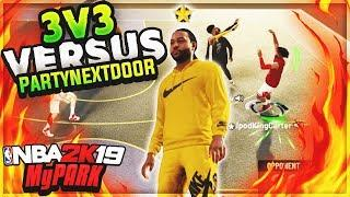 DROPPED OFF OVO RAPPER PARTYNEXTDOOR IN NBA 2K19 MYPARK!