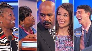 TOP 5 MOMENTS FROM JUNE 2018! | Family Feud