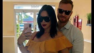 Paola Mayfield Shows Off Her Popping Baby Bump In Steamy Nearly-Naked Photo With Hubby Russ