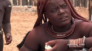Himba tribe  isolated village only inhabited by naked women   Namibia   Africa