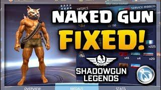 NAKED GUN 1.0 IS BACK!! - Shadowgun Legends HIDDEN RIBBON
