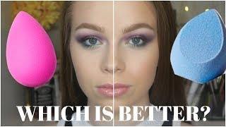 Juno&Co Velvet Sponge vs Beauty Blender