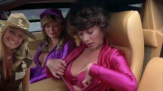The Cannonball Run 1981 720p 2 Hot Sexy Near Naked Ladies Pulled Over by a Sexy Out Cop Lady