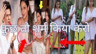 शाहरुख की बीवी बिना पेंट पहने ही बाहर आ गई, किंग खान को आई शरम