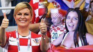 Croatia Fans React & Celebration to Defeated Russia in World Cup 2018