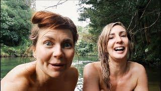 WINTER SKINNY DIPPING | OFF GRID LIVING NZ