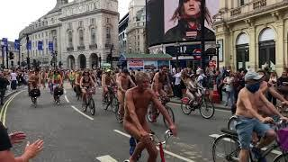 Naked Bike Ride in London