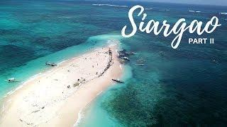 SIARGAO PART 2 : ROAD TRIP, NAKED ISLAND & FOOD TRIP |  PHILIPPINES