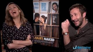 Rose Byrne & Chris O'Dowd On Their Film 'Juliet, Naked,' James Franco, Brad Pitt