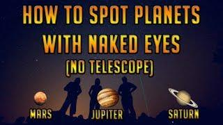 How to spot planets with naked eyes using Google SkyMap || Telescope  के बिना ग्रह कैसे देखता है ||