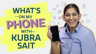 What's on my phone with Kubbra  Sait   Sacred Games   Pinkvilla   Netflix