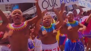Zulu tribes life Virgin Girls in Gautang South Africa